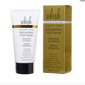 Whish Exfoliating Foot Mask Coconut Milk + Verbena